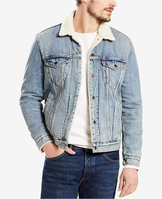 Levi's Men's Big & Tall Fleece-Lined Trucker Jacket