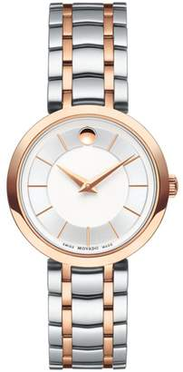 Movado 1881 Two-Tone Stainless Steel Bracelet Watch