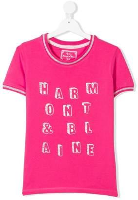Harmont & Blaine Junior logo T-shirt