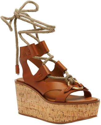 Frye Dahlia Rope Wedge Sandal