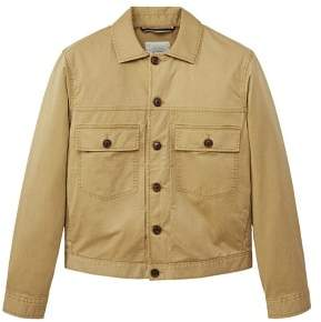 MANGO Pocketed cotton jacket