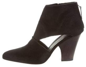 Zero Maria Cornejo Ponyhair Ankle Boots