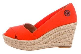 Tory Burch Filipa Espadrille Wedges