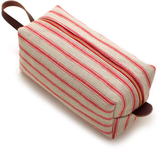 General Knot & Co Portsmouth Cotton & Linen Stripe Travel Kit