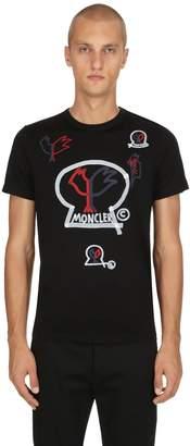 Moncler 2 1952 Logo Jersey T-Shirt
