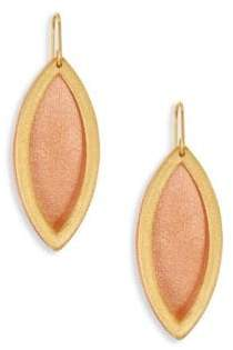 Stephanie Kantis Reveal Two-Tone Drop Earrings