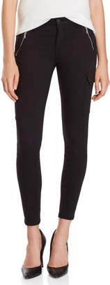 Mavi Jeans Black Juliette Skinny Cargo Pants