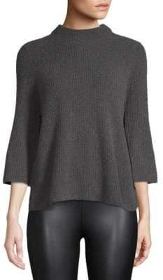 Design History Quarter-Sleeve Sweater