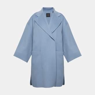 Wool-Cashmere Kimono Coat