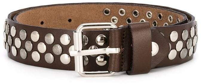Paolo Pecora Kids studded buckle belt