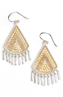 Women's Anna Beck Signature Beaded Fringe Drop Earrings $255 thestylecure.com
