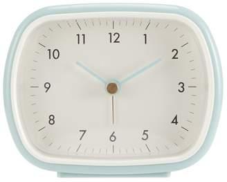 Debenhams Light Blue Retro Alarm Clock
