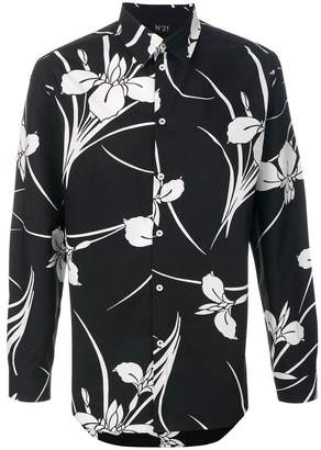 No.21 flower print shirt