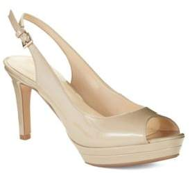 Nine West Able Platform Peep-Toe Pumps