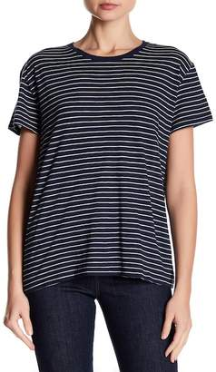 Vince Relaxed Short Sleeve Striped Tee