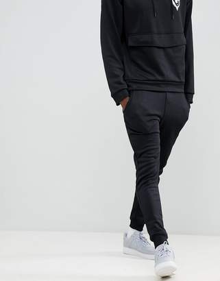 ONLY & SONS slim fit joggers with worldhood graphic