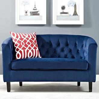 Zipcode Design Holderman Chesterfield Loveseat Upholstery