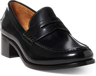 Ralph Lauren Stacie Leather Loafer