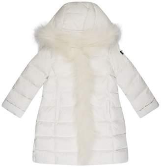 Il Gufo Fur Trim Padded Coat