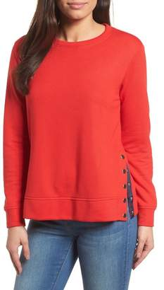 Gibson Side Snap Sweatshirt
