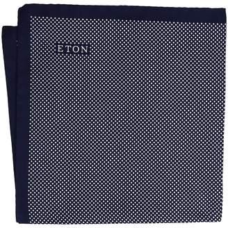 Eton Signature Dot Pocket Square Ties