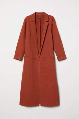 H&M Long Coat - Red
