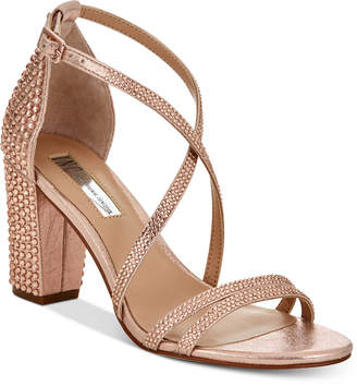 INC International Concepts I.n.c. Women's Kamma Strappy Dress Sandals, Created for Macy's Women's Shoes