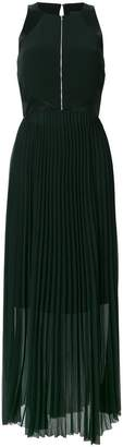 Karl Lagerfeld maxi pleated dress