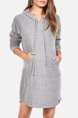 Michael Lauren Erwin Hoodie Dress