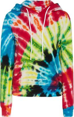 Cotton Citizen Boulder Tie-Dye Cotton-Terry Hooded Sweatshirt Size: XS