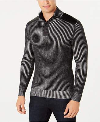 INC International Concepts I.n.c. Men's Jasper Quarter-Zip Sweater
