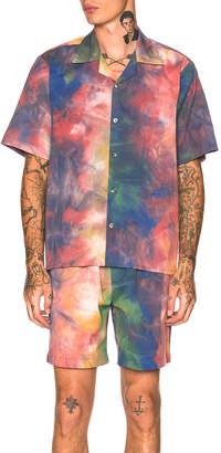 Leon Aime Dore Short Sleeve Leisure Shirt