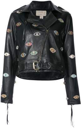 Nicole Miller Evil Eye jacket