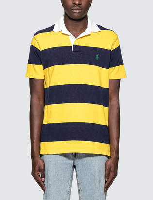 Polo Ralph Lauren S/S Polo With Gold Stripe