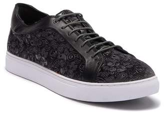 Robert Graham Coates Paisley Velvet Leather Sneaker