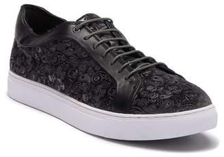 Robert Graham Coates Paisley Velvet Leather Sneaker
