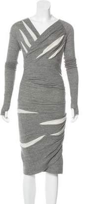 Isabel Marant Ruched Midi Dress
