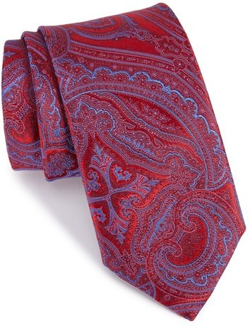 CanaliMen's Canali Paisely Silk Tie