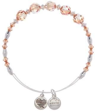 Alex and Ani Color Palette Swarovski Crystal Beaded Glow Expandable Wire Bracelet