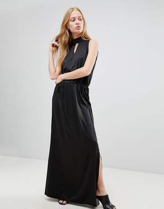 B.young High Neck Maxi Dress