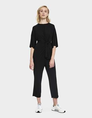 Which We Want Krista Tied Jersey Jumpsuit