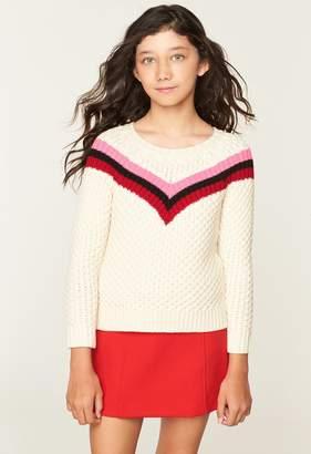Milly Minis MillyMilly Chevron Stripe Sweater