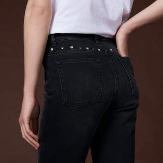 Sandro Jeans with eyelets
