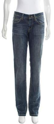 Burberry Mid-Rise Cropped Jeans blue Mid-Rise Cropped Jeans