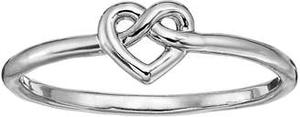 Lauren Conrad Knotted Heart Ring