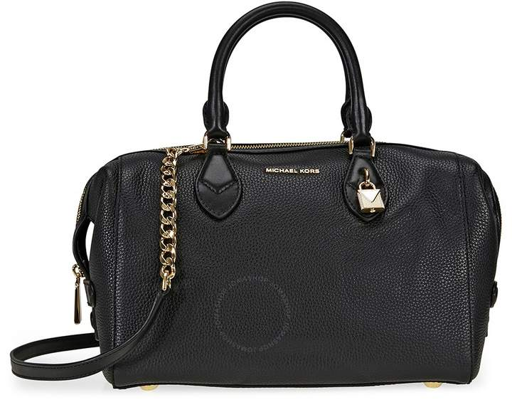 Michael Kors Grayson Large Convertible Pebbled Leather Satchel - Black - ONE COLOR - STYLE