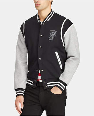 Polo Ralph Lauren Men Big & Tall P-Wing Baseball Jacket