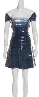 Herve Leger Gia Sequined Dress