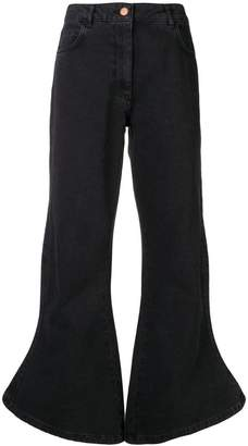 Aalto flared high waisted jeans
