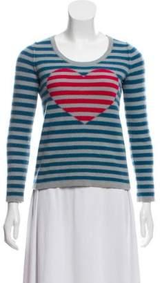 Sonia Rykiel Sonia by Cashmere Intarsia Knit Sweater